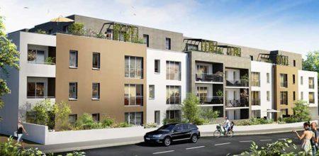 CBI Résidence Clos des Sources à Saint Herblain - Programme Immobilier Neuf - Illustration avant