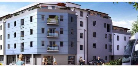 Résidence Sevria à Nantes. Acheter un programme immobilier neuf à Nantes avec CBI Immobilier.