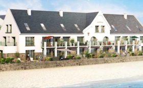CBI Résidence La Rose des sables au Croisic - Programme Immobilier Neuf - Illustration vue sur mer