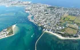 CBI Immobilier promoteur – Vue du ciel Le Croisic