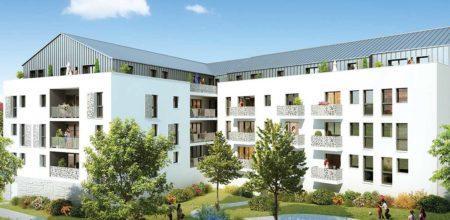 CBI Résidence Les Jardins Lobélia - Programme immobilier neuf à Couëron