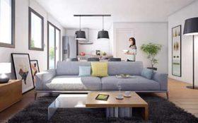 CBI Résidence Les Jardins Lobélia - Programme immobilier neuf à Couëron - Exemple d'un appartement