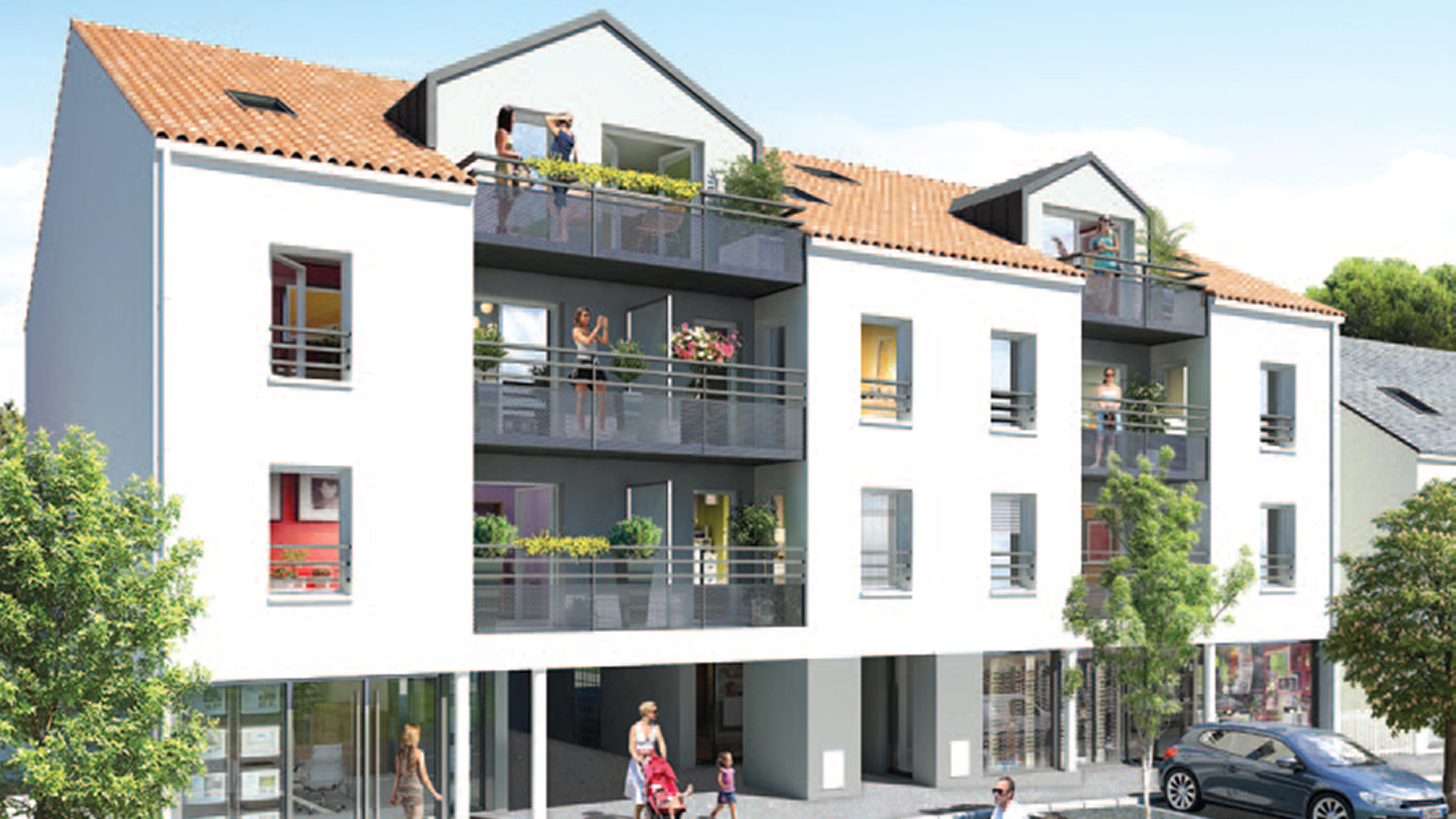 CBI Résidence Villa des Pins - Programme immobilier neuf à Tharon Plage