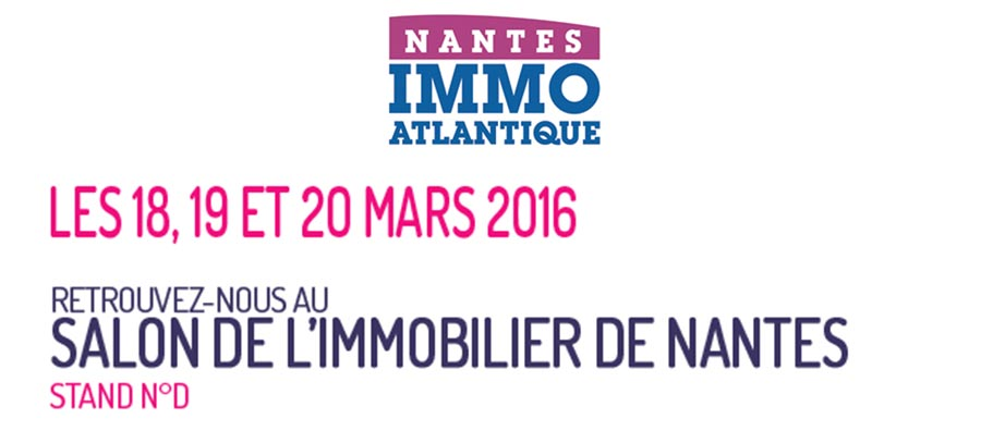 CBI participe au salon de l'immobilier à Nantes en mars 2016