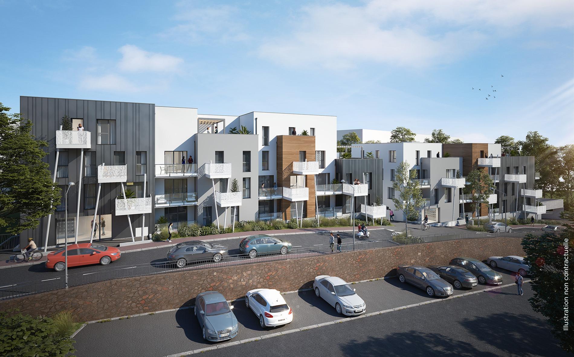 Appartements neufs Saint Herblain 44 Volta